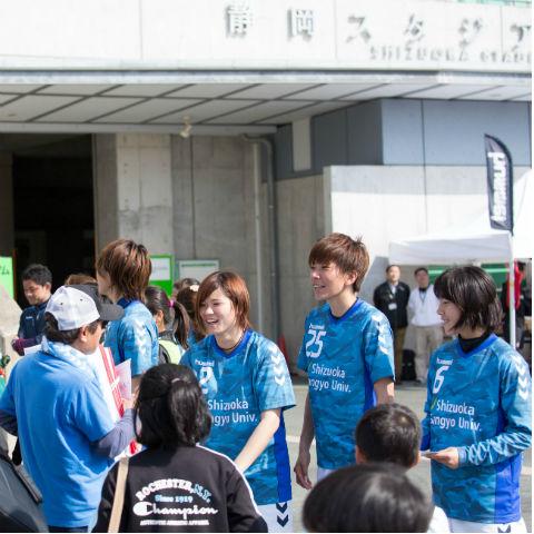 静岡SSUアスレジーナ ホームゲーム集客プロジェクト