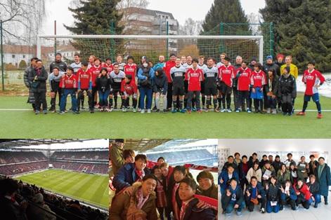 海外スポーツ研修の様子