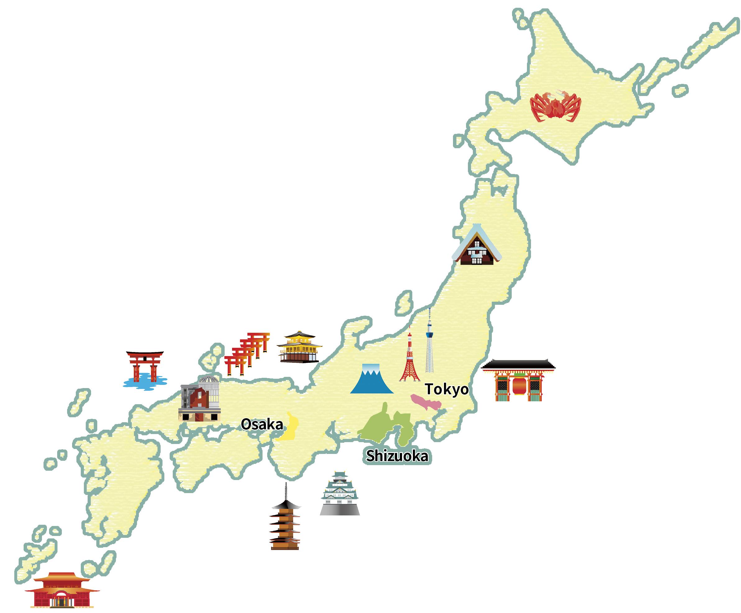 静岡県の位置